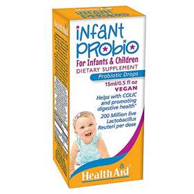 HealthAid Infant Probio For Infants & Children Vegan Drops 15ml