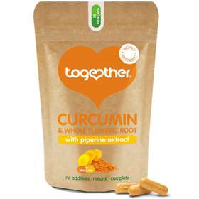 Together Curcumin & Whole Turmeric Root 30 Vegecaps