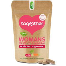Together Woman's Multi Vitamin & Mineral Supplements 30 Vegecaps