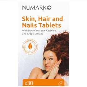Numark Skin, Hair, and Nails Tablets 30