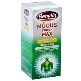 Benylin Mucus Cough Max Honey and Lemon 300ml