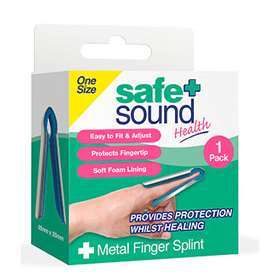 Safe + Sound Metal Finger Splint