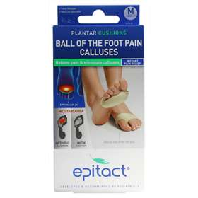 Epitact Plantar Cushions Medium 1 Pair