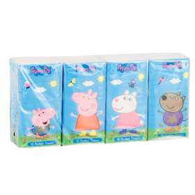 Peppa Pig Pocket Tissues 8 Pack