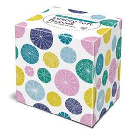 Numark Luxury Tissues 70 patterned Cube