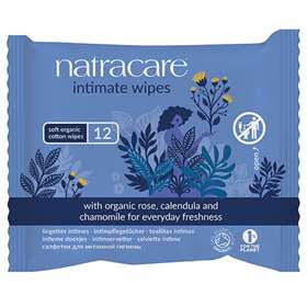 Natracare Intimate Wipes 12