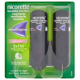 Nicorette QuickMist Cool Berry 1mg/ Spray x2