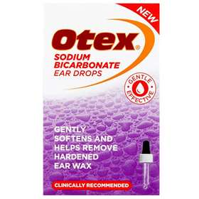 Otex Sodium Bicarbonate Ear Drops 10ml