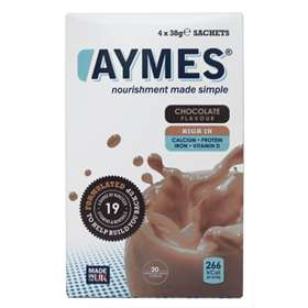 Aymes Shakes Chocolate 4 x 38g Sachets