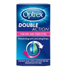 Optrex Double Action Eye Drops 10ml