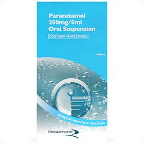 Paracetamol 250mg/5ml Oral Suspension 500ml