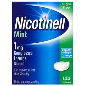 Nicotinell Mint 1mg Compressed Lozenge Nicotine 144 Lozanges