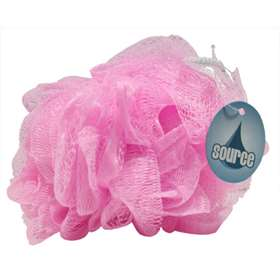 Wash Puff (Scrunchie) Pink