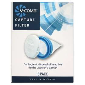 V-Comb Head Lice Filters