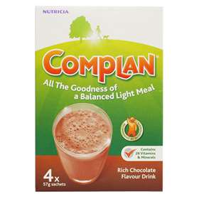 Nutricia Complan Chocolate Flavour Drink 4 Sachets