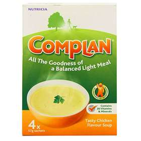 Complan Chicken Flavour Soup 4 Sachets