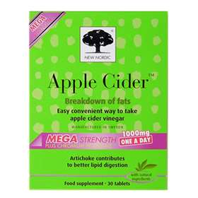 New Nordic Apple Cider Mega Strength Tablets 30