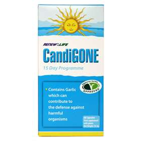 Renew Life CandiGone Food Supplement 60 Capsules