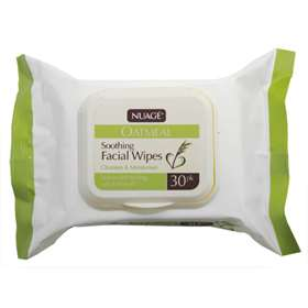 Nuage Oatmeal Soothing Facial Wipes 30