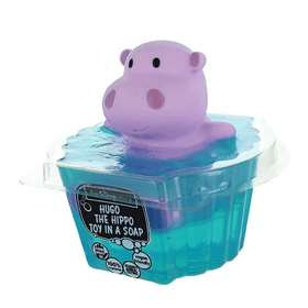 Hugo the Hippo Toy in a Soap 90g