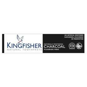Kingfisher Natural Whitening Charcoal Toothpaste 100ml