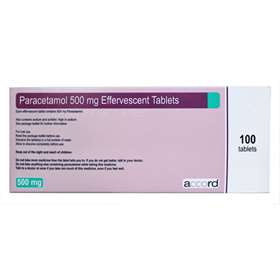 Paracetamol 500mg Soluble Tablets 100