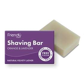 Friendly Soap Shaving Bar Orange & Lavender 95g