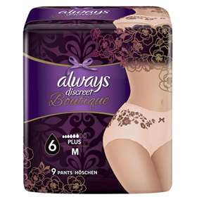 Always Discreet Boutique Incontinence Incontinence Pants Plus Medium 9