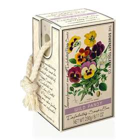 Wild Pansy Exfoliating Soap on a Rope 230g