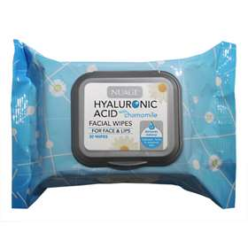 Nuage Hyaluronic Acid Facial Wipes 30
