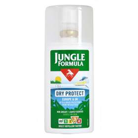 Jungle Formula Dry Protect Insect Repellent Spray 90ml