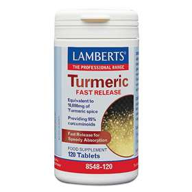 Lamberts Turmeric Fast Release Food Supplement 120 Tablets