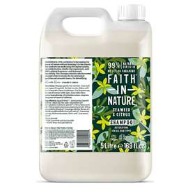 Faith In Nature Seaweed & Citrus Shampoo 5 Litres
