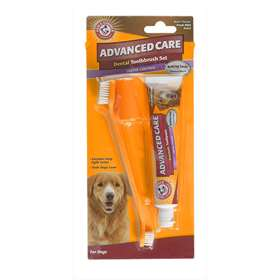 Advanced Care Dog's Dental Toothbrush Set