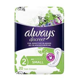 Always Discreet Incontinence Pads Small 20