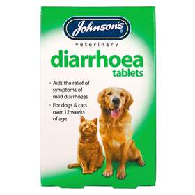 Johnson's Veterinary Diarrhoea Tablets 12
