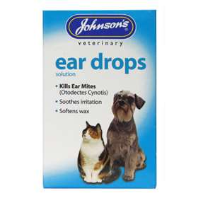 Johnson's Veterinary Ear Drops Solution 15ml