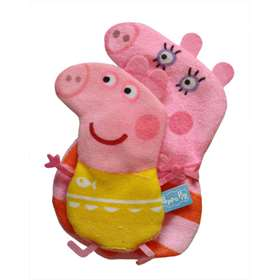 Peppa Pig Mummy and Me Wash Mitts 2