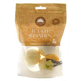 Elysium Spa Bath Bombs Vanilla Sugar 3 Pack