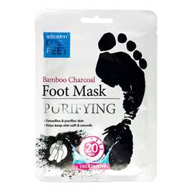 Escenti Bamboo Charcoal Purifying Foot Mask