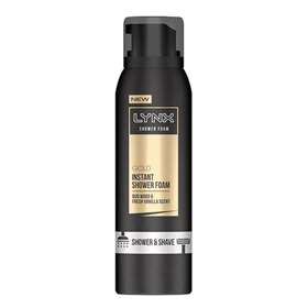 Lynx Gold Instant Shower Foam 200ml