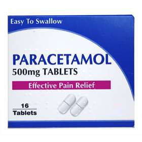 Paracetamol 500mg Tablets (caplets) 16