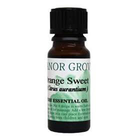 Manor Grove Orange Sweet Pure Essential Oil 10ml