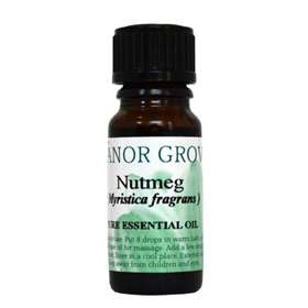 Manor Grove Nutmeg Pure Essential Oil 10ml