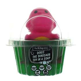 The Soap Story Doris The Dinosaur Toy In A Soap 90g