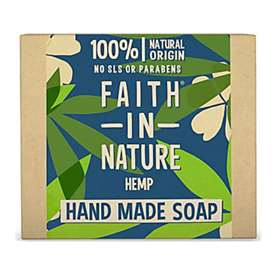 Faith in Nature Hand Made Hemp Soap 100g