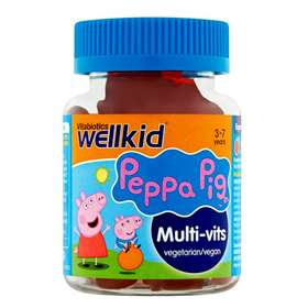 Vitabiotics Wellkid Peppa Pig Multi-Vits 3-7 years 30