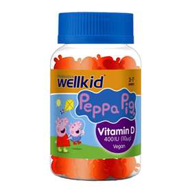 Vitabiotics Wellkid Peppa Pig Vitamin D 400IU Jellies 30