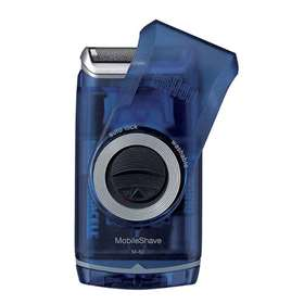 Braun Pocket Go Battery Shaver Blue
