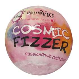 DermaV10 Cosmic Fizzer Passion Fruit Bath Bomb